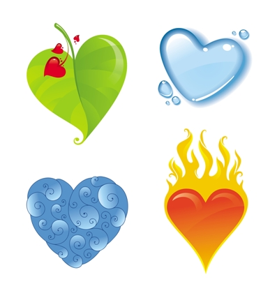 Elemental clipart the four Love Elemental Astrology Cafe Love