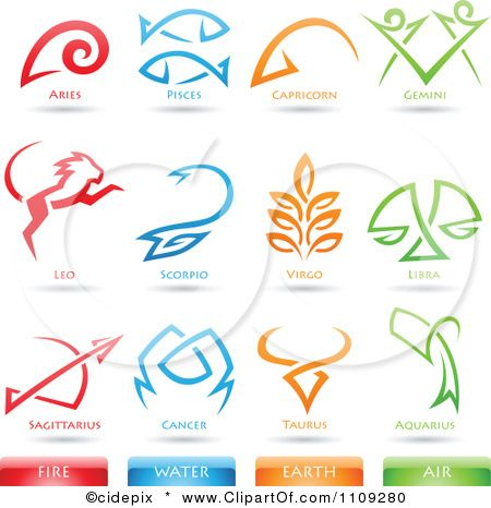 Elemental clipart wind Fire Icons Astrology Earth tattoo