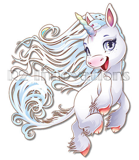 Elemental clipart wind Elemental Children's Unicorn Wind Elemental_wind