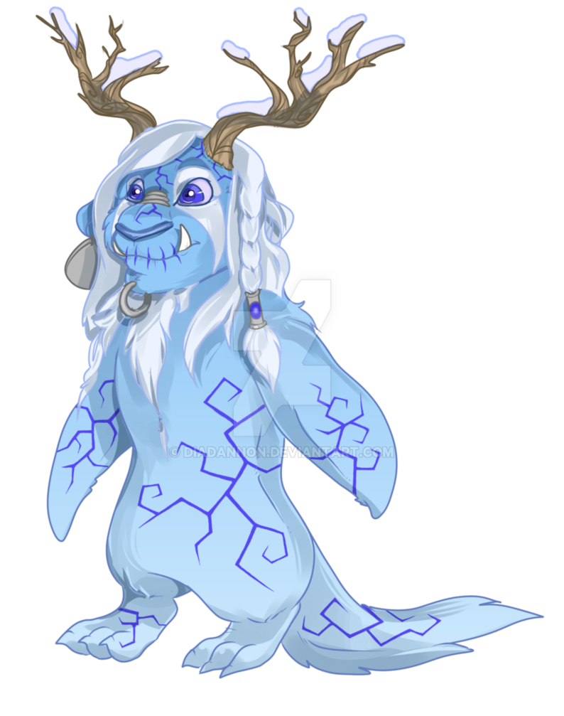 Elemental clipart winter Pingui Earth Elemental DeviantArt diadannon