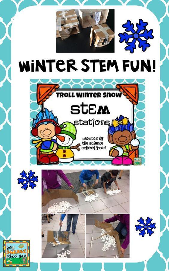 Elemental clipart winter Troll Winter Troll STEM Snow