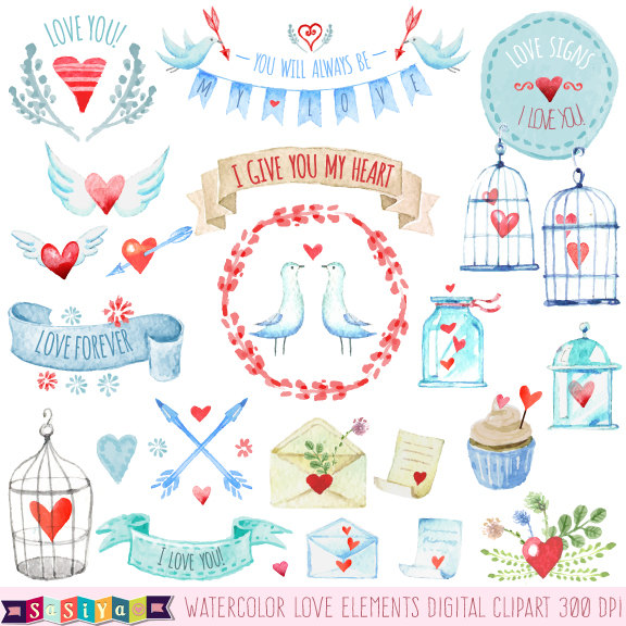Color clipart stationery Decorations Stationery Cage Elements Stamp