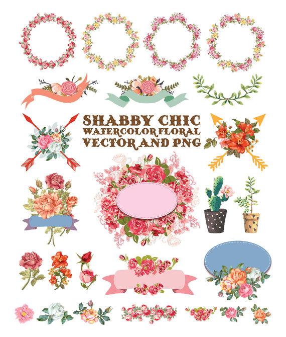 Elements clipart color Watercolor Watercolor Flower Clipart Download