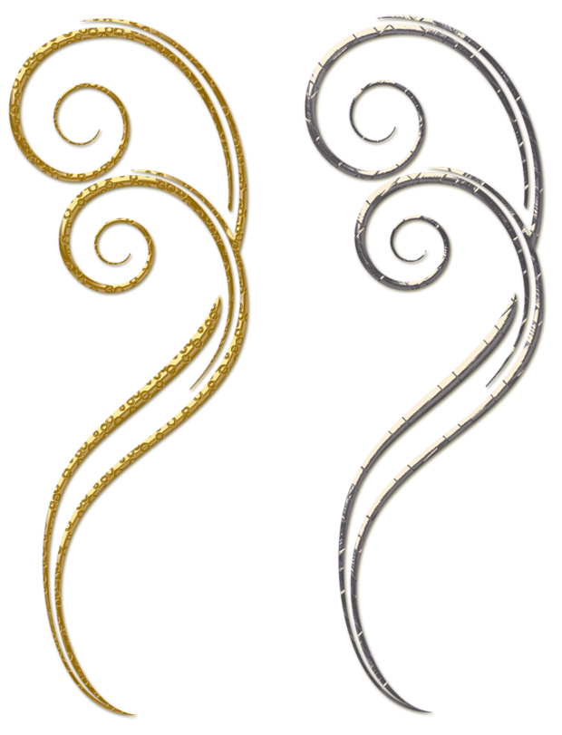 Elements clipart decorative Silver  and View Decorative