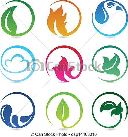 Elements clipart drawing With of Vector Vector signs