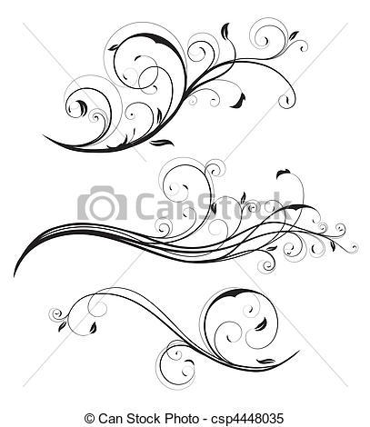 Elements clipart drawing Clipart Vector Vector decorative of