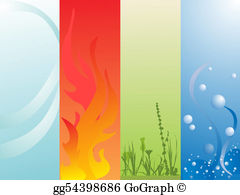 Elements clipart drawing Vector Drawing floral water Vector