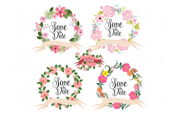 Illustration clipart wedding flower Wedding by 14 Check Floral