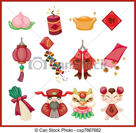 Elements clipart graphic New Illustration Chinese decorative of