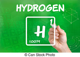 Elements clipart hydrogen 8 Stock Illustrations EPS for