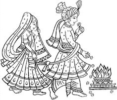 Elements clipart indian wedding Around Wedding  a times