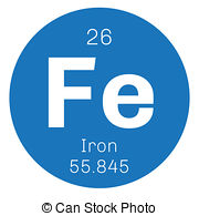 Elements clipart iron Of element chemical Artby the