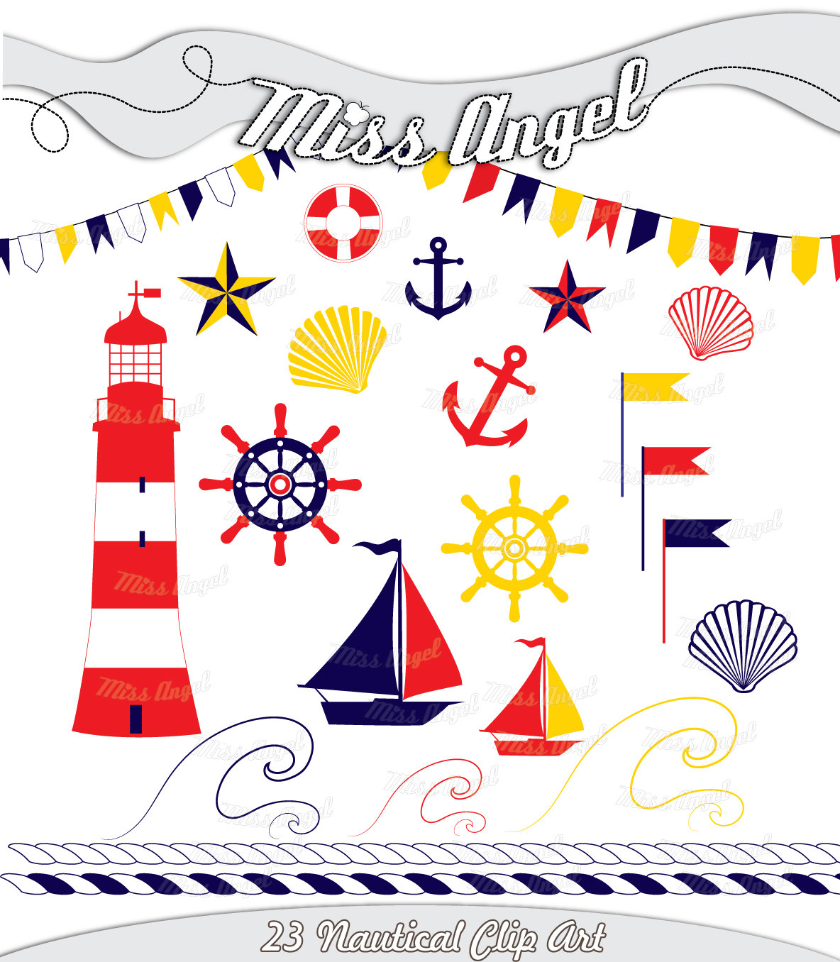 Yacht clipart nautical ship Scrapbook Clipart 23 Like this
