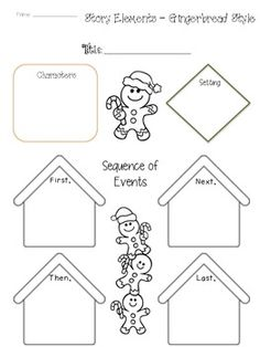 Elements clipart story map FREEBIE story Man Use the