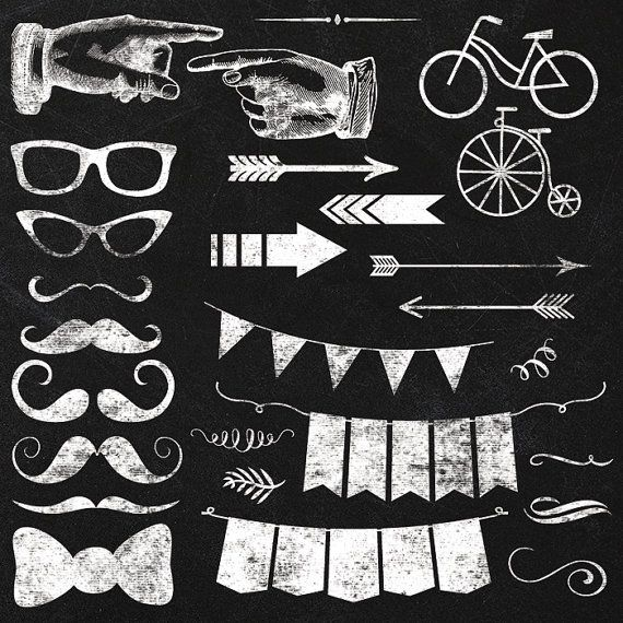 Hipster clipart modern arrow Instant elements elements transparent Clipartix