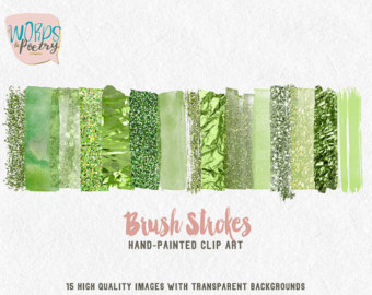 Elements clipart web element Element Greenery web Custom Digital
