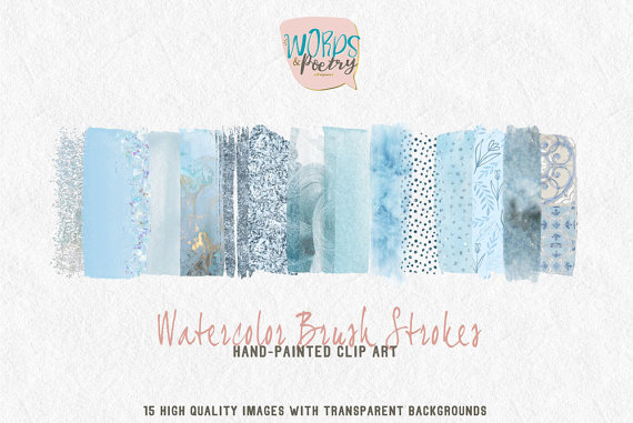 Elements clipart web element Stroke Pale watercolor Pale Clipart