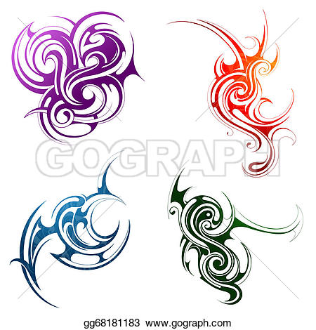 Elements clipart wind Style gg68181183 Drawing Drawing elements