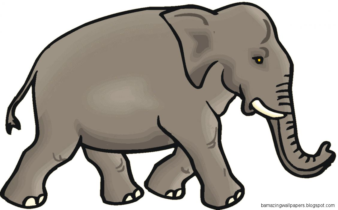 Asian Elephant clipart line art Free Elephant Panda Clipart Clipart