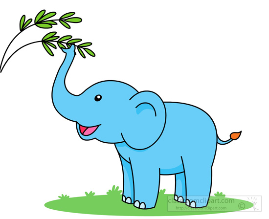 Elephant clipart Branch from elephant snatching Free