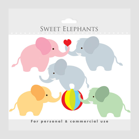Tired clipart elephant #6