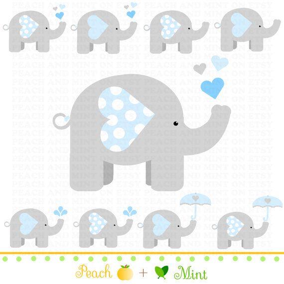 Word clipart elephant Clipart Boy great Baby Art