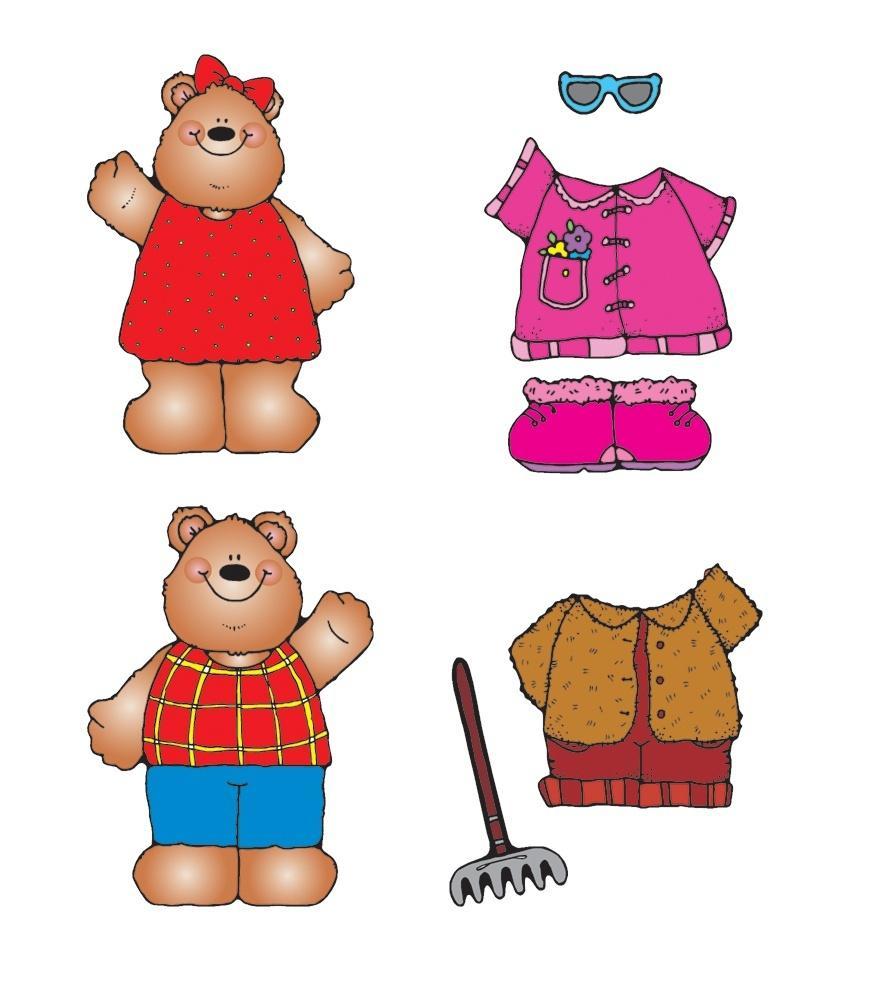 Bear clipart carson dellosa Teddy & Bulletin Bear Set