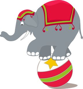 Asian Elephant clipart circus elephant 124 on CLIP Pinterest ART