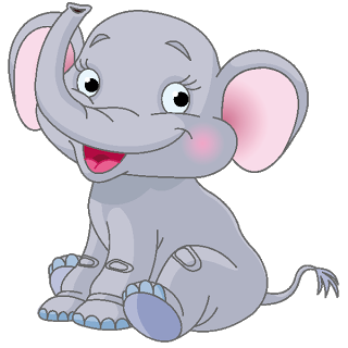 Rat clipart elephant #1