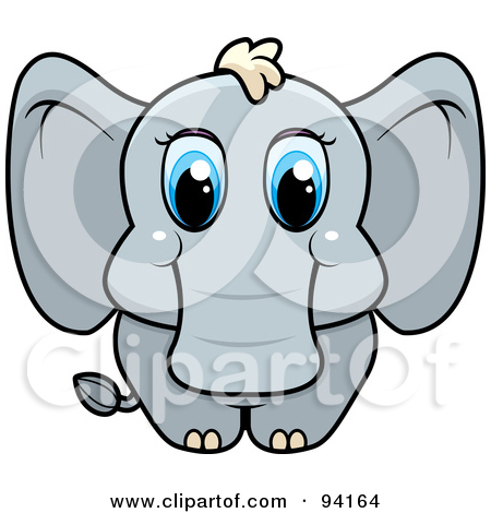 Blue Eyes clipart baby eye Art Clipart Clip Eye Elephants