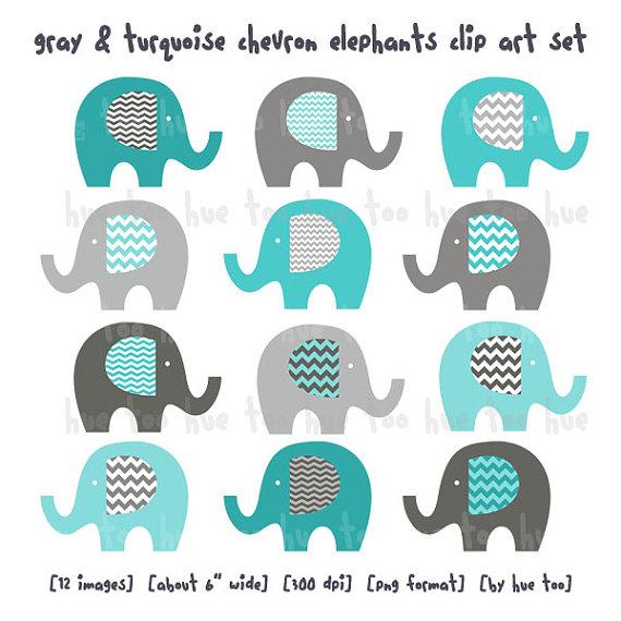 Word clipart elephant Clipart elephants cute clip chevron