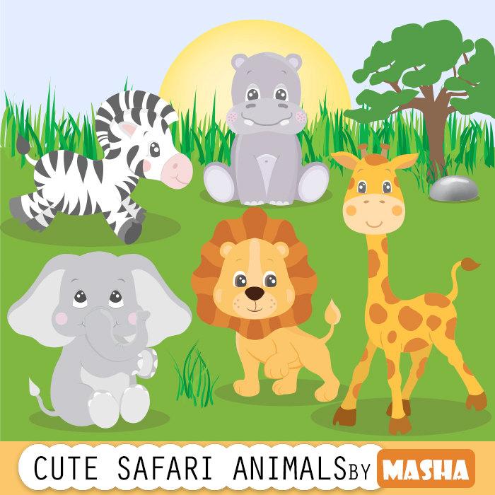 Zebra clipart jungle animal Animals clipart: animals CLIPART