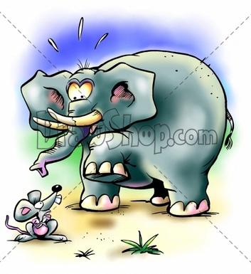 Rat clipart elephant #4