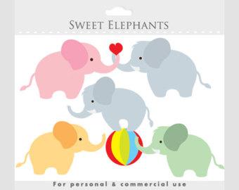 Rat clipart elephant #7