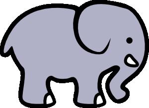 Animal clipart elephant Cartoon com  online at