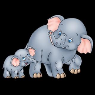 Rat clipart elephant #3