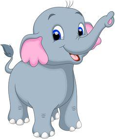 Winter clipart elephant Elephant vector Cute Elephants [преобразованный]