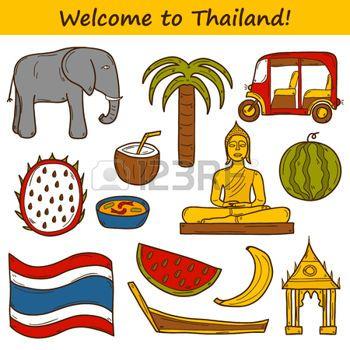 Thai clipart thailand elephant Thai elephant: theme: taxi Set