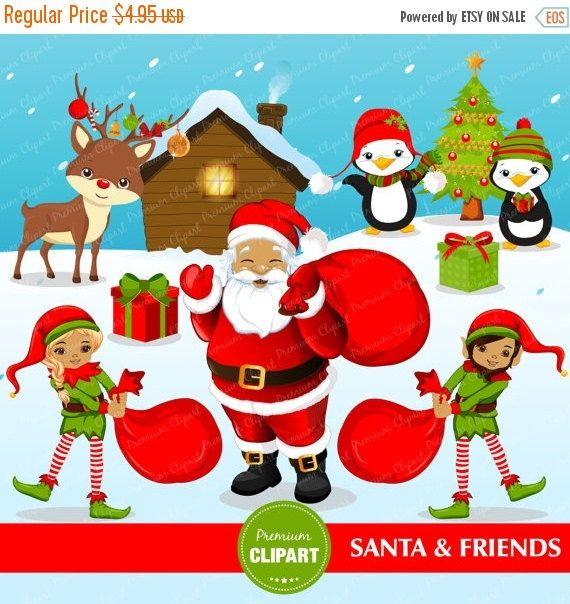 Elf clipart african american Ideas Best SALE & Penguin