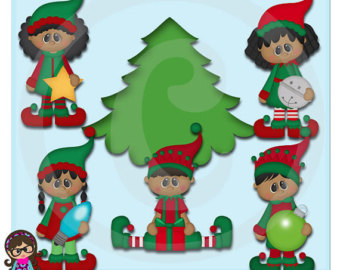 Elf clipart african american Elf Commercial The AA Clipart