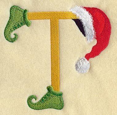 Elf clipart alphabet Inch Pinterest Letter Elf Letter