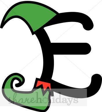 Elf clipart alphabet Elf The Alphabet Elf Alphabet