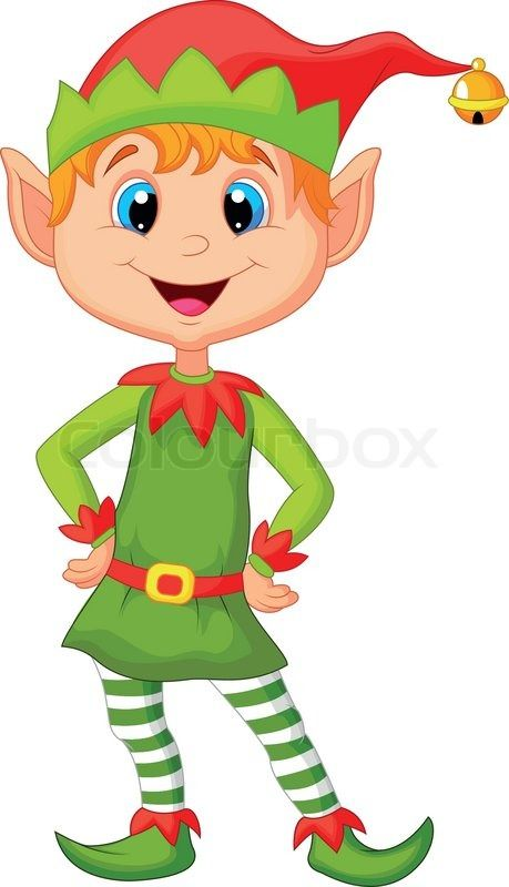 Elf clipart animated On looking cartoon Other cute