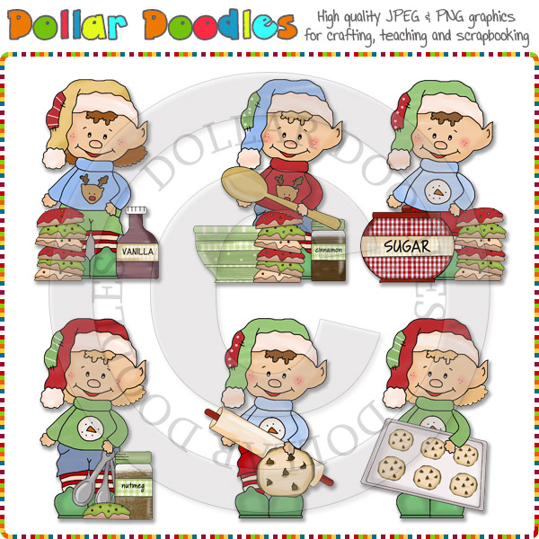 Baking clipart elf Cookies Bake Clipart Sweater Bake