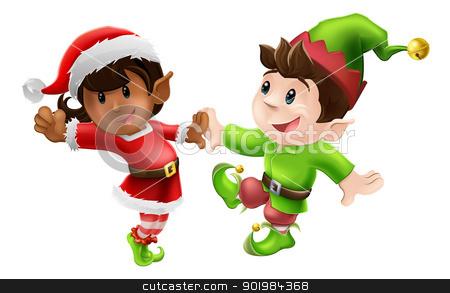 Elf clipart black christmas  Poetry 2013 & Kujaku