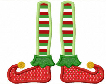 Elf clipart boot Elf NO:1237 Download boot Embroidery