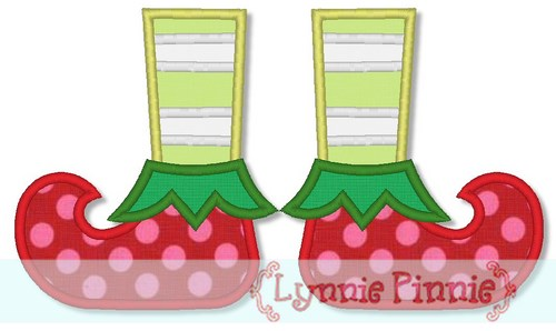 Elf clipart boot To Welcome to Lynnie 5x7