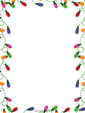 Elf clipart border Thank and write this Border