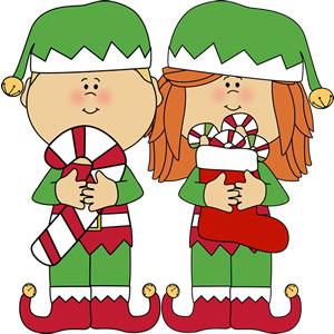 Elf clipart candy cane 2013 candy elf Holidays children