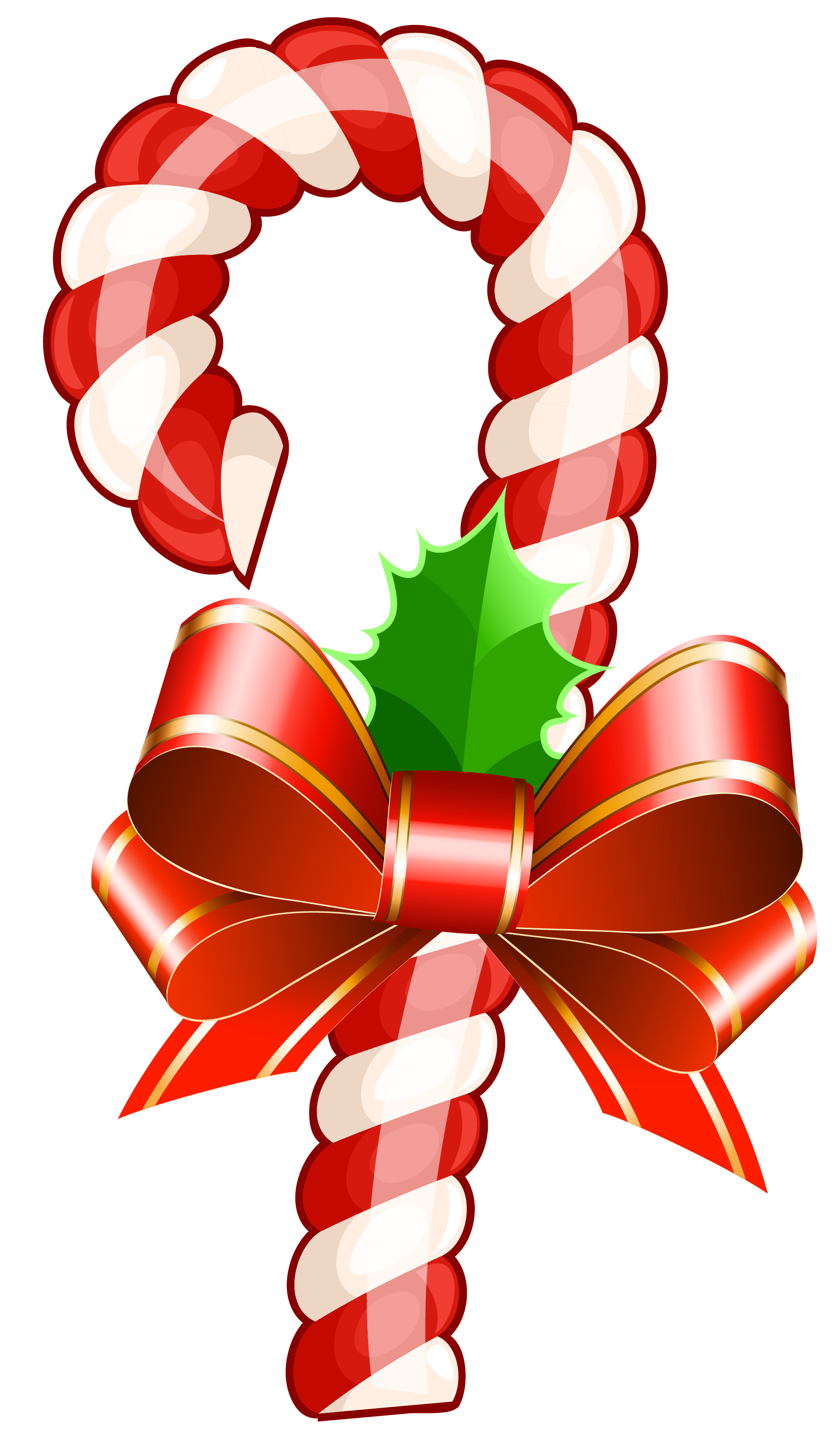 Reindeer clipart candy cane #13